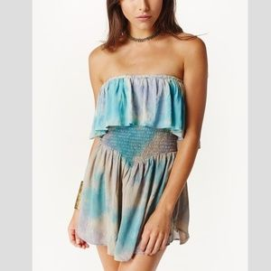 Blue Life Tie Dye Skort Dress